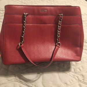 Guess women's purse, red